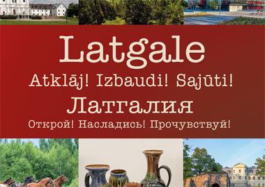 Tūrisma materiāli un praktiska informācija, Latgales tūrisma mājaslapa